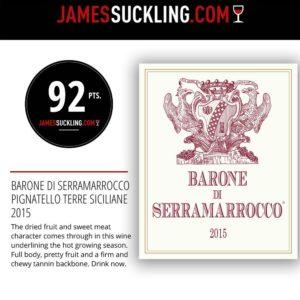 92 Barone di Serramarrocco 2015