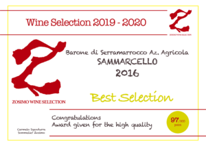 97 punti SAMMARCELLO 2016 ZOSIMO WINE SELECTION